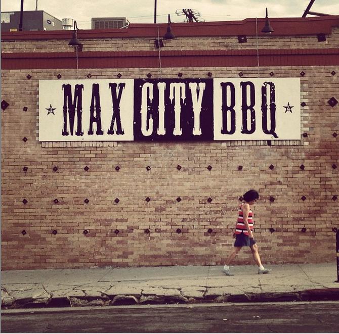 Max city bbq wedding
