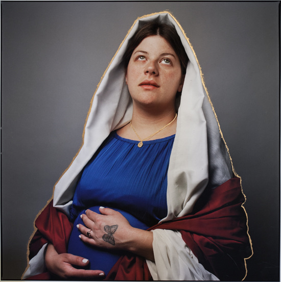 Olivia Johnston, Pregnant Madonna (Gaelyn), 2015